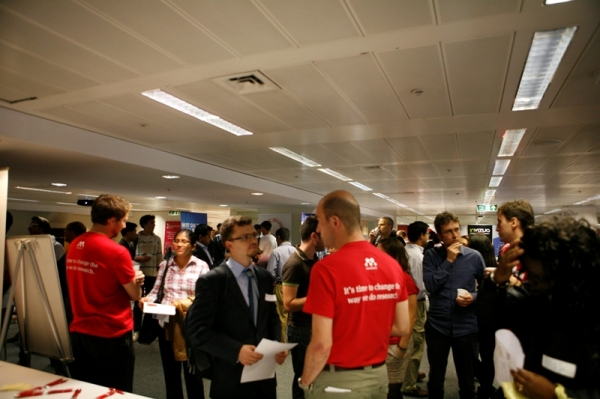 Great turnout for the #TechStartupJobs Fair
