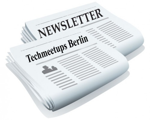 Berlin TechMeetups Weekly Newsletter 23 November 2012