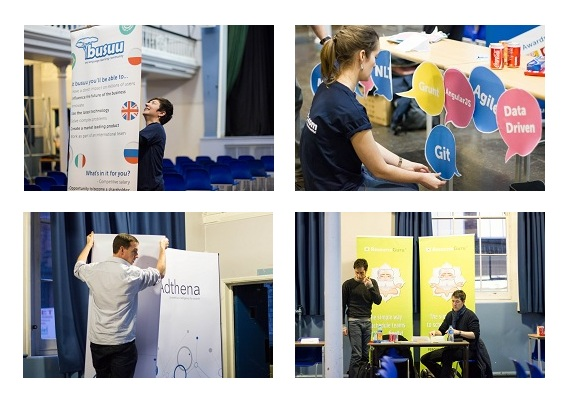 TechStartupJobs Fair London 2014…..Behind The Scenes