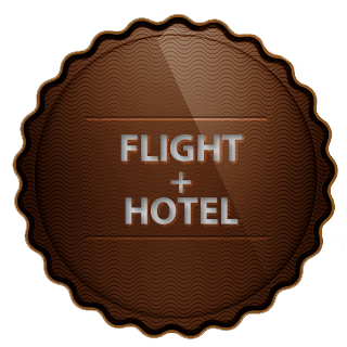 Flight+Hotel ticket