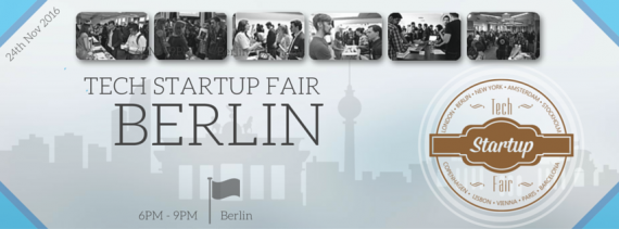 Tech Startup Fair Berlin Autumn 2016
