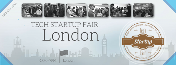 Tech Startup Fair London Autumn 2016