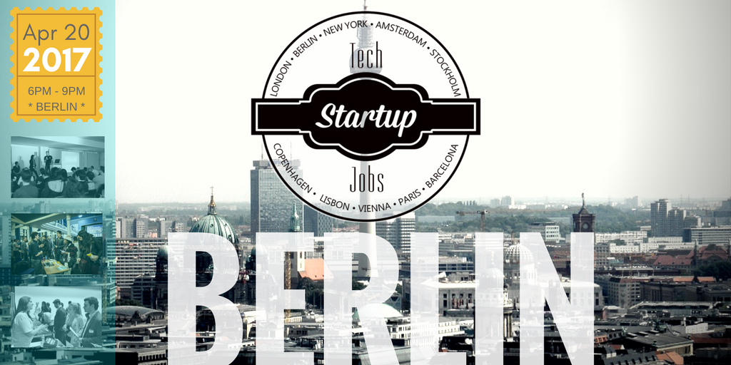 upcoming events tech startup job fair berlin spring 2017. Black Bedroom Furniture Sets. Home Design Ideas