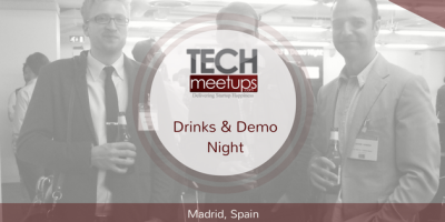 Madrid drinks and demo