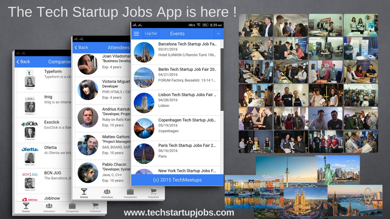 Tech Startup Jobs App is here !