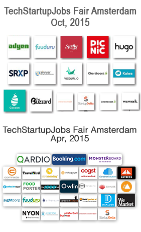 Amsterdam All startups collage