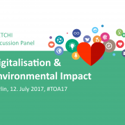 Digitalisation & Environmental Impact