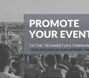 Promote your event with Techmeetups.com