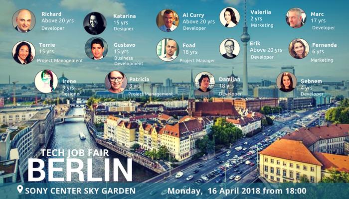 Regular jobseeker collage Berlin