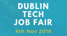 Late Registration for Job Seekers – Dublin Tech Job Fair 2018