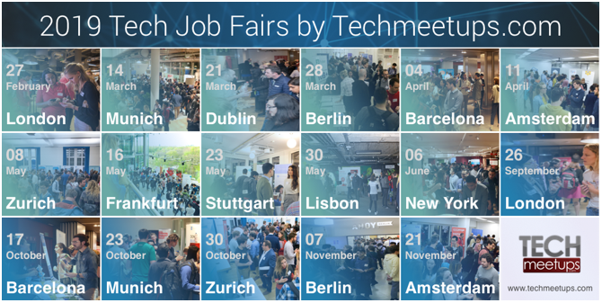 techstartupjobs schedule