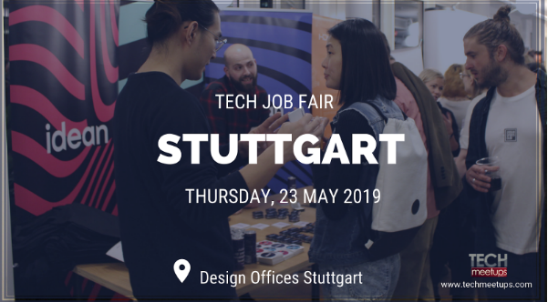 JOIN STUTTGART TECH JOB FAIR 2019