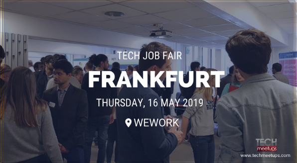 JOIN FRANKFURT TECH JOB FAIR 2019
