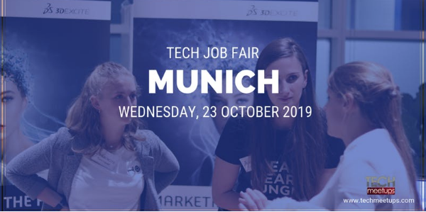 JOIN MUNICH TECH JOB FAIR 2019