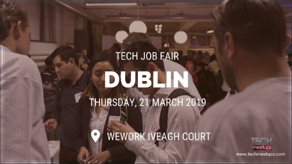 JOIN DUBLIN TECH JOB FAIR 2019