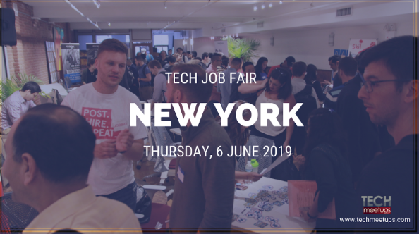JOIN NEW YORK TECH JOB FAIR 2019
