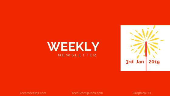 TECHMEETUPS NEWSLETTER DECEMBER 3RD 2019 | TechMeetups
