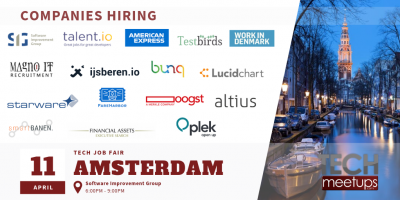 Amsterdam Tech Job Fair 2019