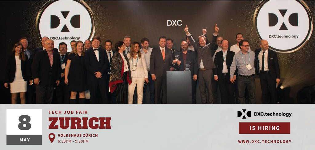 DXCtechnology - Zurich Tech Job Fair 2019