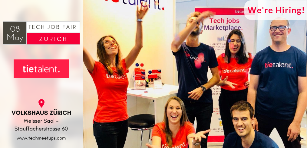TieTalent - Zurich Tech Job Fair 2019