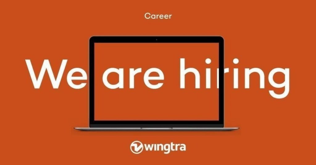 Wingtra Zurich Tech Job Fair 2019