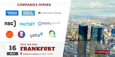 Frankfurt Tech Job Fair 2019