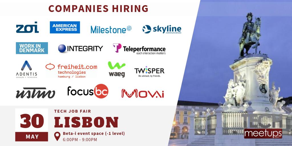 Lisbon Tech Job Fair 2019