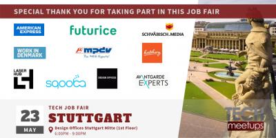 Stuttgart Tech Job Fair 2019
