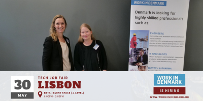 Workindenmark Lisbon Tech Job Fair 2019