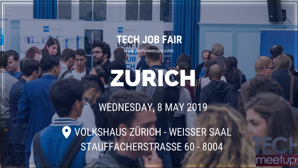 Zurich Tech Job Fair 2019