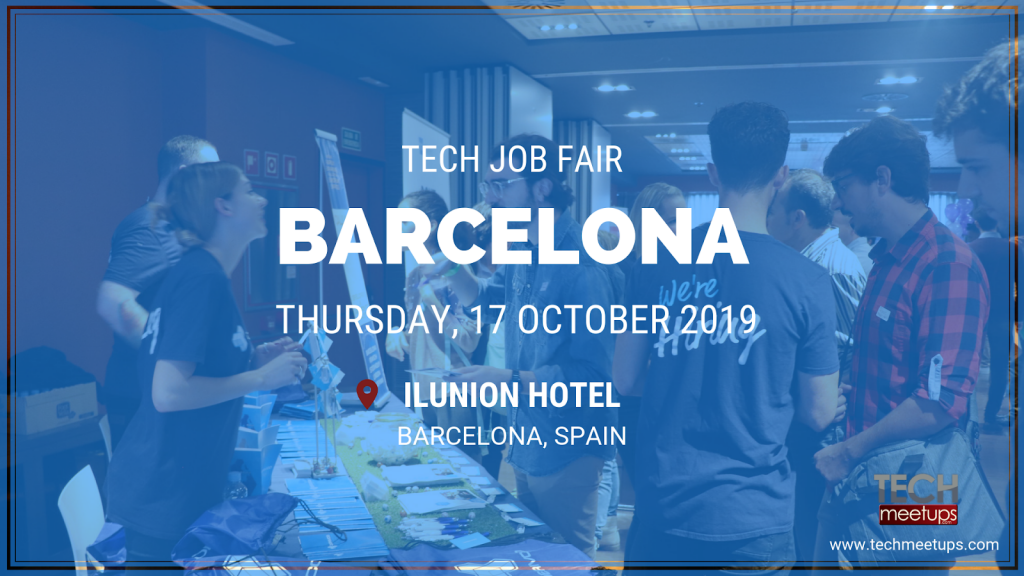 BARCELONA TECH JOB FAIR AUTUMN 2019