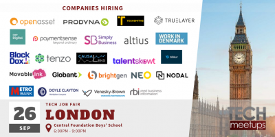 London Tech Job Fair Autumn 2019