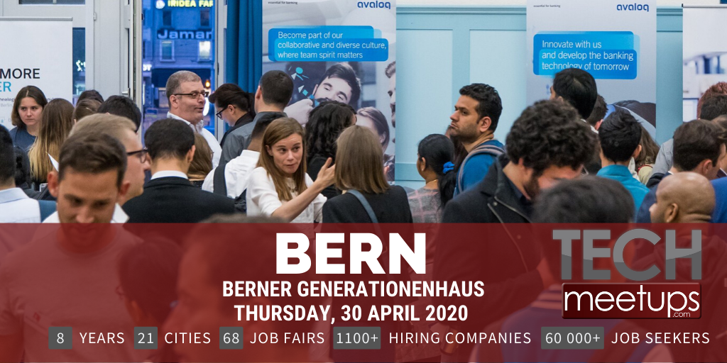 Career Fair Near Me 2020.Bern Tech Job Fair 2020 By Techmeetups Techmeetups