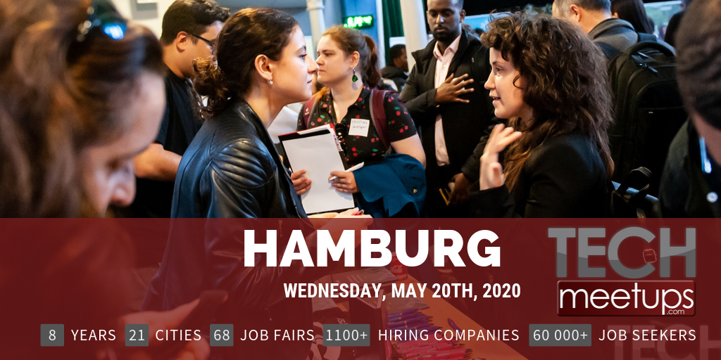 Career Fair Near Me 2020.Hamburg Tech Job Fair 2020 By Techmeetups Techmeetups