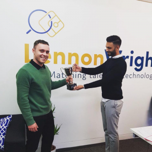 LENNON WRIGHT Munich Tech Job Fair Autumn 2019