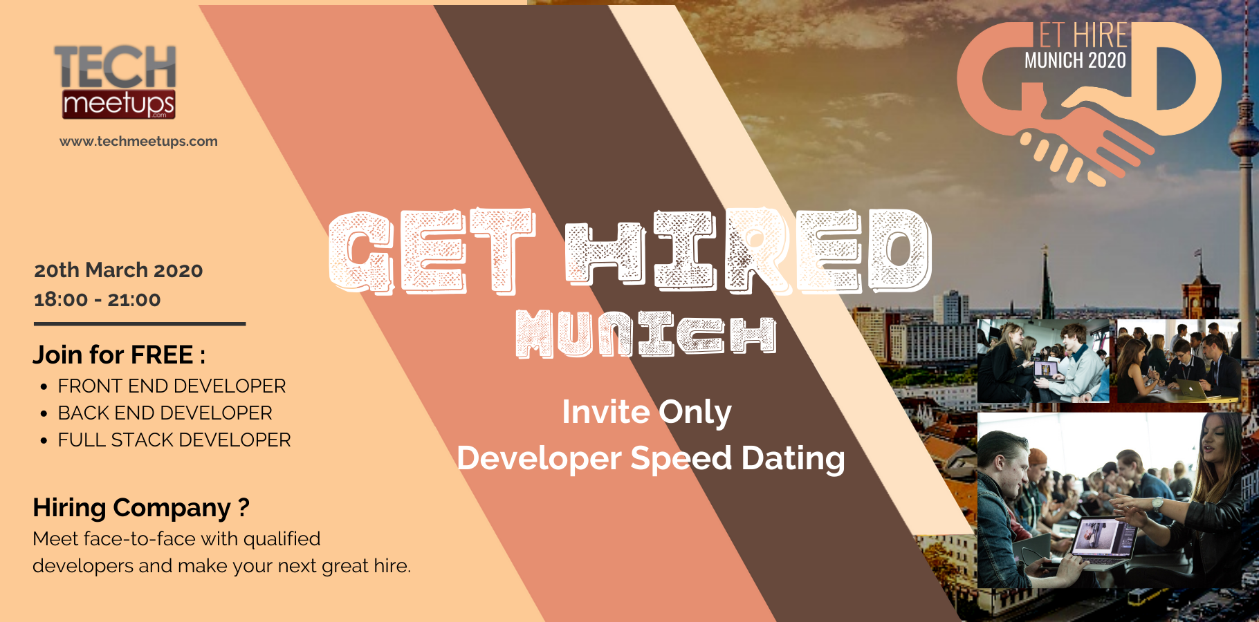 Tech speed dating