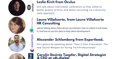 Speakers Final - recruITech Berlin 2019