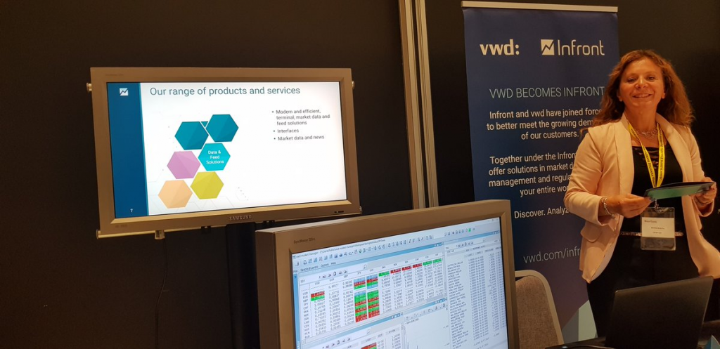 VWD and Infront Amsterdam Tech Job Fair Autumn 2019