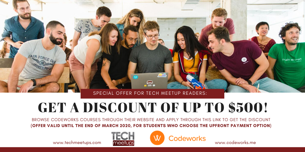 CodeWorks Courses Discount