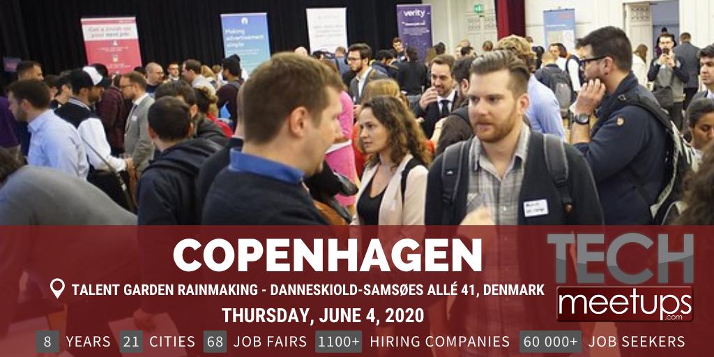 COPENHAGEN TECH JOB FAIR SPRING 2020
