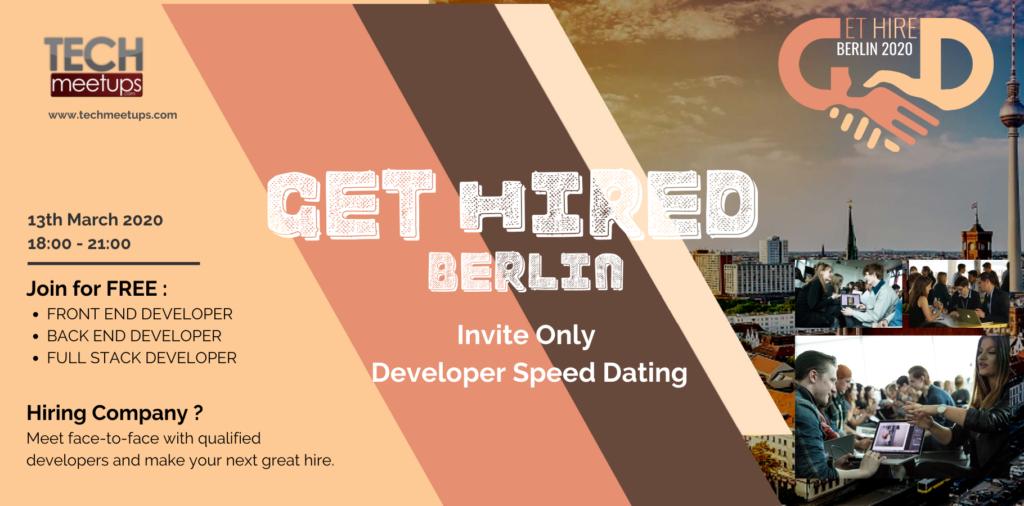 GET HIRED BERLIN 2020