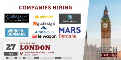 London Tech Job Fair Spring 2020