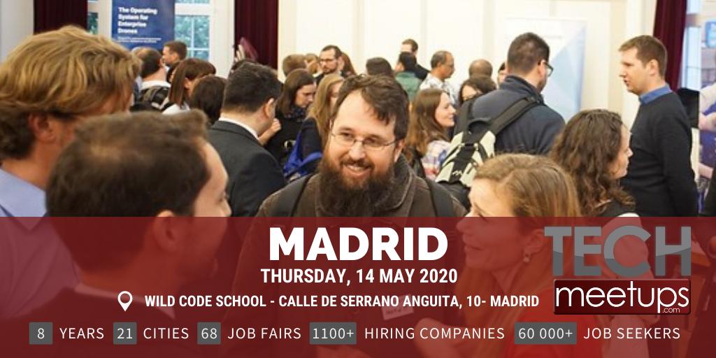MADRID TECH JOB FAIR SPRING 2020