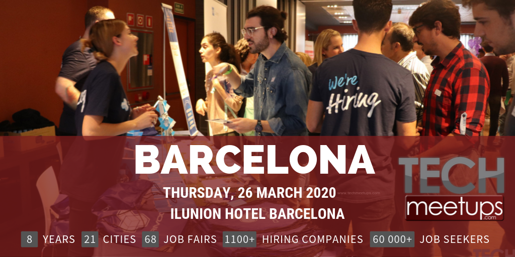 BARCELONA TECH JOB FAIR SPRING 2020