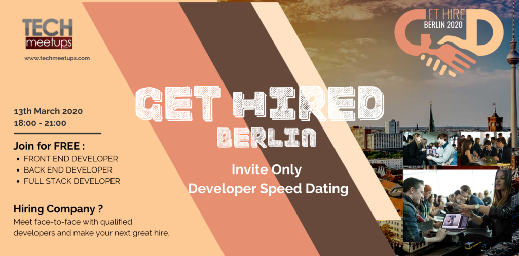GET HIRED BERLIN 2020