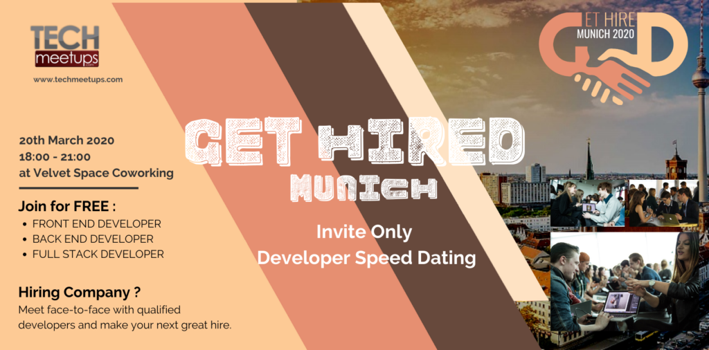 GET HIRED MUNICH 2020