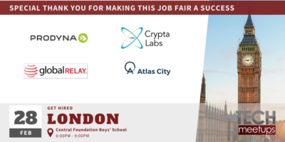 Get Hired London Spring 2020