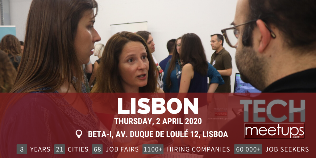 LISBON TECH JOB FAIR SPRING 2020