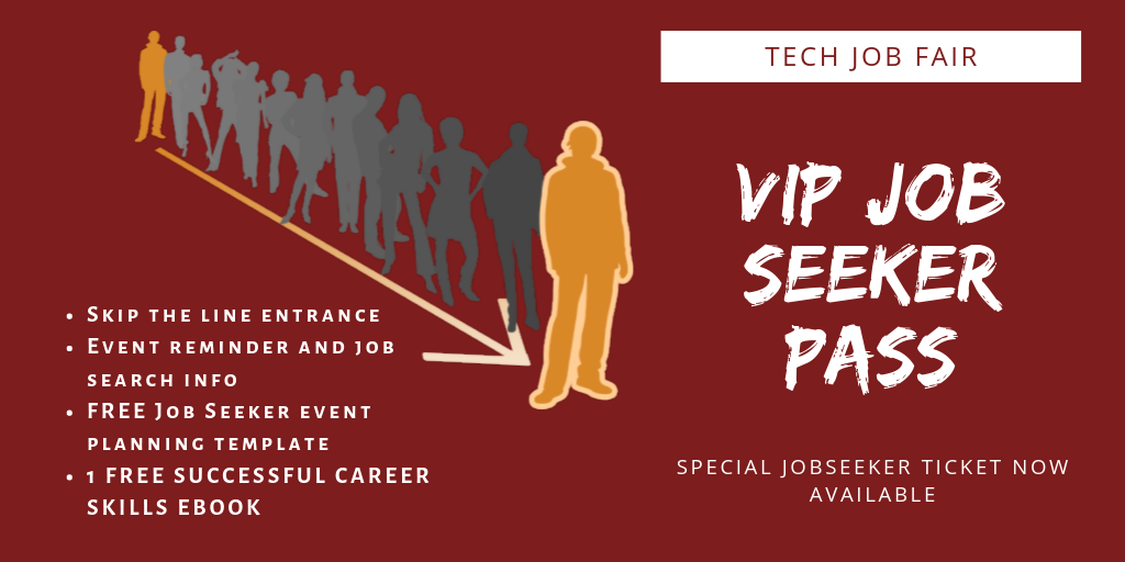 TechMeetUps VIP Job Seeker Pass