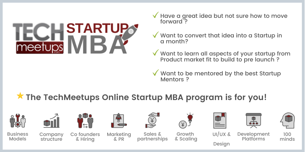 techmeetups guide on mba
